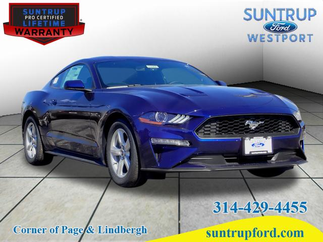 Ford Mustang Ecoboost >> New 2019 Ford Mustang Ecoboost Ecoboost 2dr Fastback In St Louis