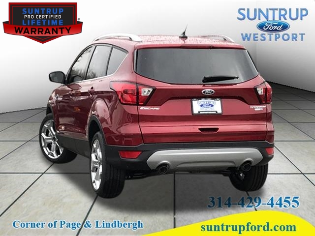 Ford Escape Titanium >> New 2019 Ford Escape Titanium Awd Titanium 4dr Suv In St Louis
