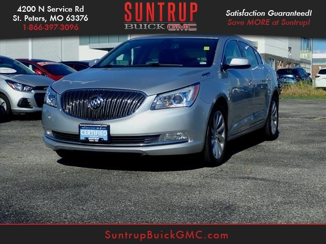 Certified Pre-Owned 2016 Buick LaCrosse Base