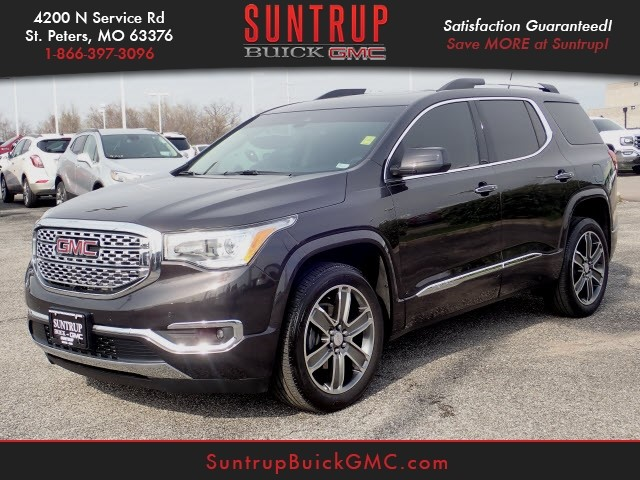 Certified Pre Owned 2017 Gmc Acadia Denali
