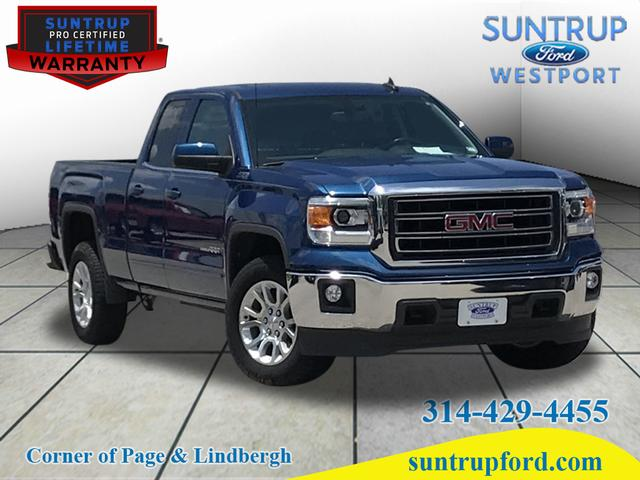 1999 2013 Chevrolet And Gmc Truck 2000 2013 Lmc Truck >> Pre Owned 2015 Gmc Sierra 1500 Sle 4wd