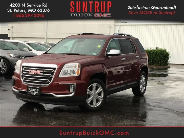 Certified Pre Owned 2016 Gmc Terrain Slt Awd Awd Slt 4dr Suv In St