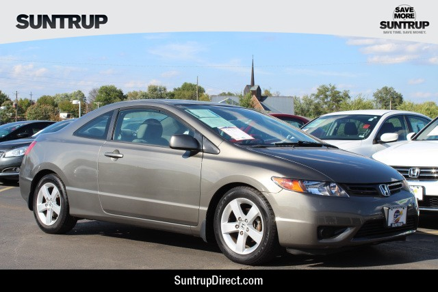Good Pre Owned 2007 Honda Civic Coupe EX