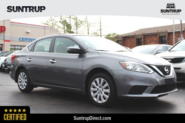 Certified Pre-Owned 2016 Nissan Sentra SV