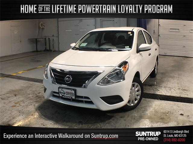 Certified Pre-Owned 2019 Nissan Versa 1.6 S Plus