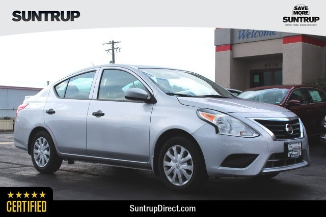 Nissan Certified Pre Owned >> Certified Pre Owned 2018 Nissan Versa 1 6 S Plus Fwd 4d Sedan