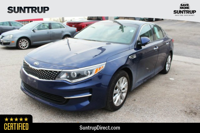 Certified Pre Owned 2017 Kia Optima Ex