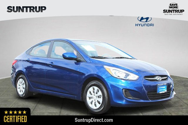 Certified Pre-Owned 2016 Hyundai Accent 4-Door SE