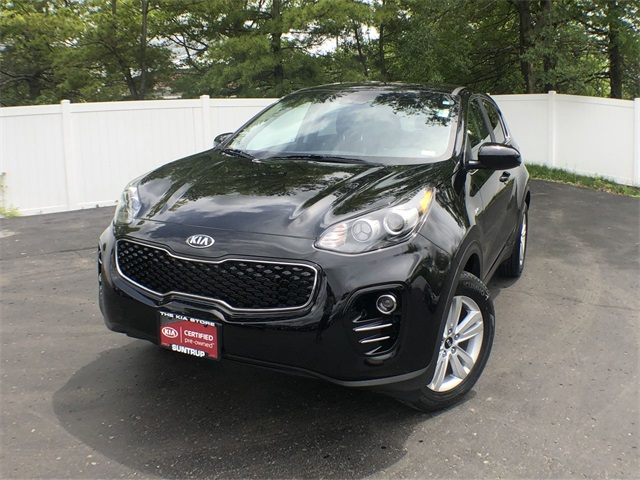 Certified Pre-Owned 2019 Kia Sportage LX