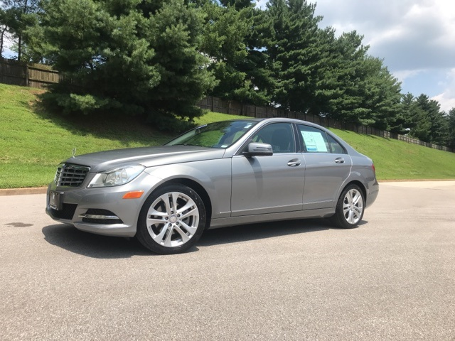 Pre Owned 2012 Mercedes Benz C Class C 300 4matic 4d Sedan