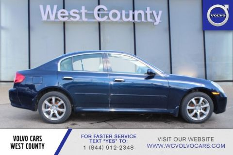 Pre-Owned 2006 INFINITI G35 Sedan G35x 4dr Sdn AWD Auto