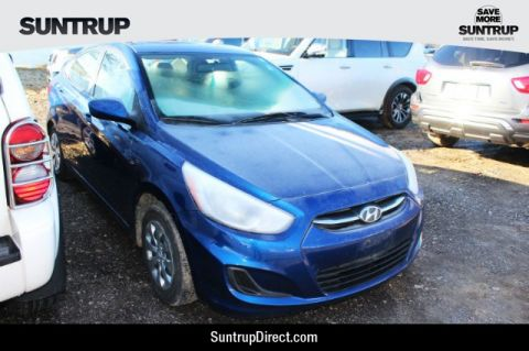 Pre-Owned 2016 Hyundai Accent 4-Door SE
