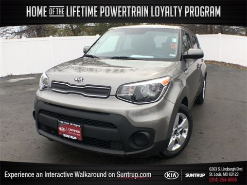 Certified Pre-Owned 2017 Kia Soul Base