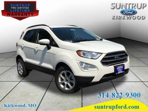 New 2018 Ford EcoSport SE 4X4