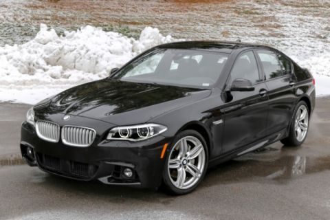 Certified Pre-Owned 2016 BMW 5 Series 550i xDrive