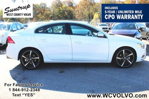 Certified Pre-Owned 2016 Volvo S60 T5 Drive-E R-Design Special Edition
